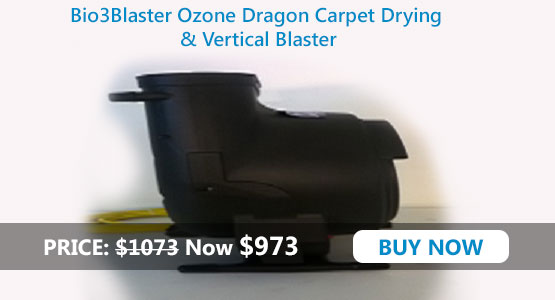 OZONE DRAGON Carpet Drying and Sanitizing Machine