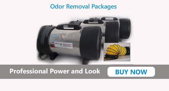 Professional Odor Removal Packages
