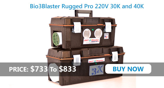 Rugged Pro Series 220v 2014 Model 20,000-40,000mg/h